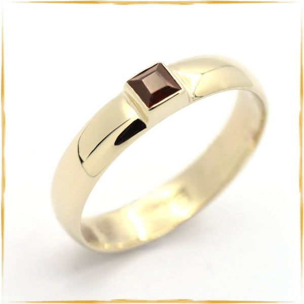 Ring | 585/000 Gold | Granat