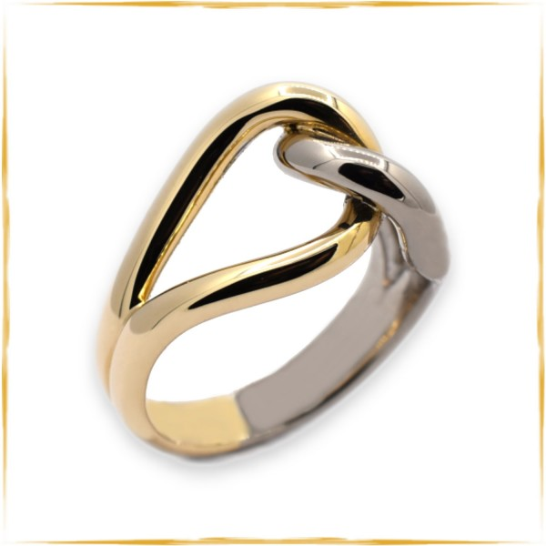 Ring | 585/000 Gold | Bicolor