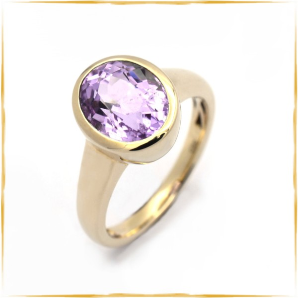 Ring | 585/000 Gold | Amethyst