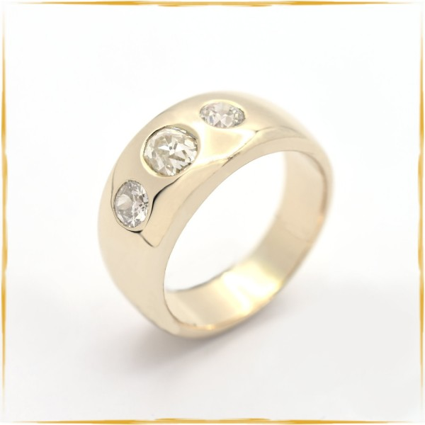 Ring | 585/000 Gold | Diamanten