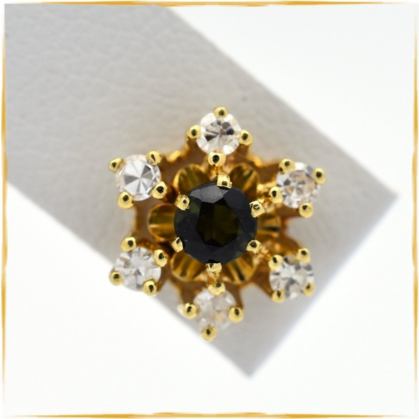 Ohrstecker | 585/000 Gold | Diamanten | Peridot