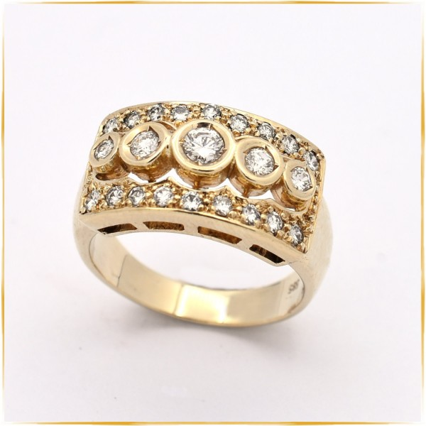 Ring | 585/000 Gold | Brillanten