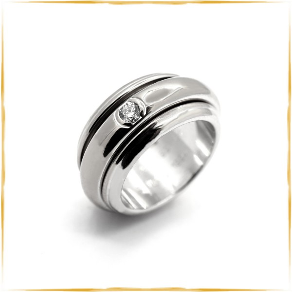 PIAGET Ring Possession | 750/000 Weissgold | 0,15 ct. Brillant
