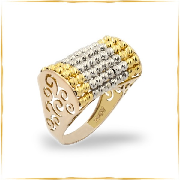 Ring | 750/000 Gold | Bicolor