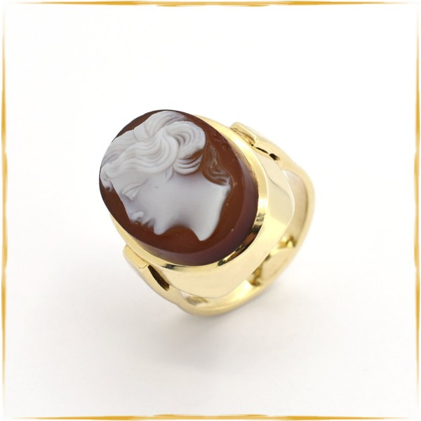Ring | 585/000 Gold | Kamee
