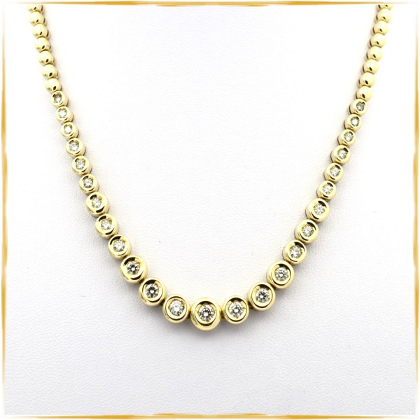 Collier | 750/000 Gold | Brillanten
